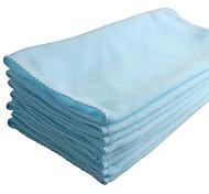 Ziqiao 8 шт / много 70 * 30 см микроволокна очистки автомобиля полотенце многофункциональный автомобиль стирка полировка сухой чистой