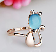 Women's Ring Opal Euramerican Fashion Rhinestone Alloy Jewelry Jewelry 147 Birthday Event/Party Other