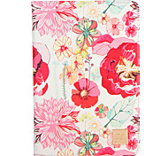 Для apple ipad (2017) pro 9.7 '' чехол для крышки с подставкой флип-паттерн полный корпус чехол цветок твердый pu кожа воздух 2 воздушный