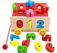 Конструкторы Игры с последовательностью Для получения подарка Конструкторы Оригинальные и забавные игрушки Дерево 2-4 года 5-7 лет Игрушки