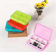 Pill Cases for Travel 6 Cells Mini Pill Storage Box Plastic Cases for Medicine Jewelry Organizers Medication Pill Box
