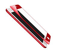 MOCOLL® For Iphone7 Red Soft Edge Full Screen Full Coverage Scratch Resistant Wearable 9H High Definition Tempered Glass Film