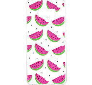 Case for Samsung Galaxy S8 Plus S8 Pattern Back Cover Fruit Soft TPU S7 Edge S7