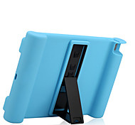 For Apple iPad Air Case Cover Shockproof with Stand Full Body Case Solid Color Soft Silicone