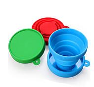 Чашки для путешествий / чашка Складной Посуда в дорогу для Складной Посуда в дорогу Красный Зеленый Синий