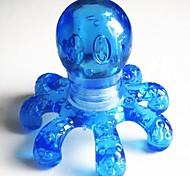 1шт портативный кристалл массаж портативный осьминог массажер случайный цвет