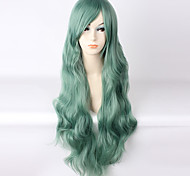Lolita Wigs Sweet Lolita Dark Green Lolita Lolita Wig 85 CM Cosplay Wigs Wig For