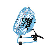 Sky Blue Mini USB Fan for Offices and Homes