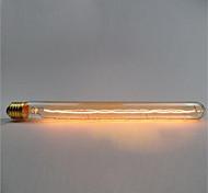 Ac220 -240 t26-300 e27 tubo de prueba retro de la flauta de 60w edison retro bulbo decorativo v1pcs