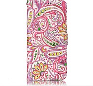For Samsung Galaxy S8 S8 Plus Case Cover Pepper Flowers Pattern Shine Relief PU Material Card Stent Wallet Phone Case S7 S6 S7 S6 Edge