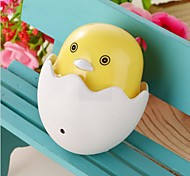 1 Pcs Cute LED Egg Night Light Safe Lighting Auto Sensor Smart Baby Bedroom Lamp  Low Power New Born Chicken Night lamp Radmon Color