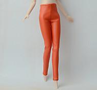 Collants Autres Petits Cadeaux Simili Cuir Pour Poupée Barbie Pantalon Pour Fille de Jouets DIY