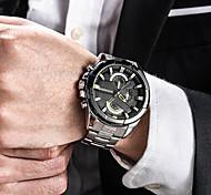 Муж. Спортивные часы Армейские часы Нарядные часы Модные часы Часы-браслет Уникальный творческий часы Повседневные часы Наручные часы
