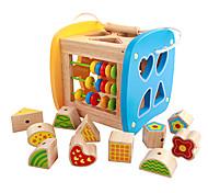 Ролевые игры Музыкальные игрушки Обучающая игрушка Для получения подарка Конструкторы Натуральное дерево 3-6 лет Игрушки