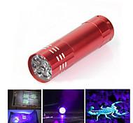 Светодиодные фонари Ультрафиолетовые фонари LED 300 Люмен 1 Режим LED Батарейки не входят в комплект Ударопрочный Нескользящий захват