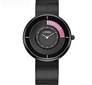 NEW Mens Watches Top Brand Luxury Stainless Steel Mesh Strap Quartz Watch Clock Men Fashion Aurora Style Relogio Masculino