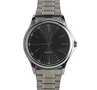 Men's Fashion Watch Japanese Quartz / Stainless Steel Band Casual Silver