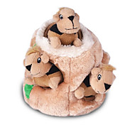 Cat Toy Dog Toy Pet Toys Plush Toy Cute Foldable Adjustable Fabric