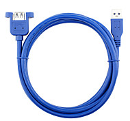 USB 3.0 Удлинитель, USB 3.0 to USB 3.0 Удлинитель Male - Female 0.3м (1ft)