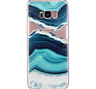Кейс для samsung galaxy s8 plus s8 летняя морская вода мраморная картинка soft tpu материал телефон кейс для s7 край s7 s6 край s6
