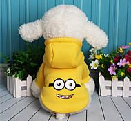 Собака Толстовка Одежда для собак На каждый день Носки детские Лиловый Желтый Красный Синий