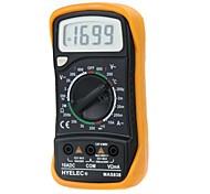 HYELEC MAS838  Professional Digital LCD Display Multifunction Mini Multimeter/Temperature Test Multimetro LCR Meter