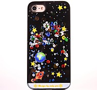 For iPhone 7 Plus /iPhone 7 Case Cover Flowing Liquid Pattern Back Cover Case Cartoon Soft TPU For iPhone 6 Plus/ iPhone 6