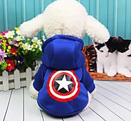 Собака Костюмы Плащи Одежда для собак На каждый день Американский / США