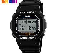 SKMEI 2017 Men Sports Watches Fashion Casual Lady Watch Digital Alarm 50M Waterproof Man Military Multifunctional Wristwatches