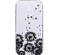 Чехол для samsung galaxy j7 2017 j5 2017 телефон чехол череп цветок шаблон мягкий материал для телефона tpu материал для телефона j3 2017