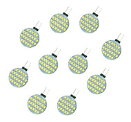 2.5W Luci LED Bi-pin 24 SMD 2835 189 lm Bianco caldo Bianco DC 12 V 10 pezzi