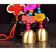 Сумка / телефон / брелок шарм звон колокол мультфильм игрушка китайский стиль деревянный металл