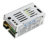 Hkv® 1шт мини-размер светодиодный импульсный источник питания 12v 1.25a 15w трансформатор питания переменного тока ac100v 110v 127v 220v