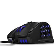 50 до 16400 точек на дюйм высокоточная лазерная игровая мышь mmo для программируемых кнопок pc18 venus