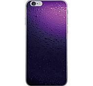 Случай для яблока iphone 7 7 плюс крышка капли воды картина капель hd покрасила более толстый материал tpu мягкий случай случай телефона
