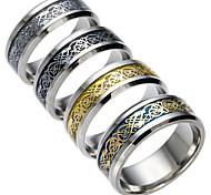 Муж. Жен. Кольца для пар Цирконий бижутерия Мода Титановая сталь Бижутерия Бижутерия Назначение Повседневные