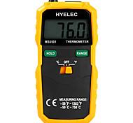 hyelec ms6501 большой дисплей LCD цифровой термометр типа K термопары termometro с данными провести регистрацию /