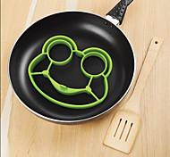 силиконовые лягушки яйцо жареное формы прессформы профилировщика Poucher блина кольцо инструмент кухни