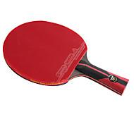 6 Звезд Ping Pang/Настольный теннис Ракетки Ping Pang Углеволокно Длинная рукоятка Прыщи 1 Ракетка 1 Сумка для настольного тенниса