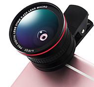 Линк lq-026 объектив 0.42x объектив для рыбьего глаза 10-кратный макросъемка с алюминиевым зажимом для мобильного телефона для мобильных