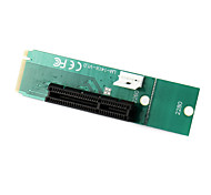 PCI Express PCI-E 4x женщиной ngff м.2 м ключевую мужской адаптер конвертер карты с кабелем питания