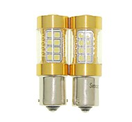 Sencart 2pcs bau15s 1056 py21w проблесковая лампа водить автомобиль хвост поворот лампы заднего фонаря (белый / красный / синий / теплый