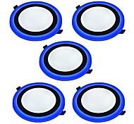 Осветительная панель Естественный белый Синий Светодиодная лампа 5 шт.