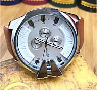 JUBAOLI Муж. Спортивные часы Модные часы Наручные часы Китайский Кварцевый Календарь Хронометр Крупный циферблат Нержавеющая сталь Группа
