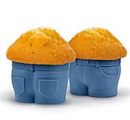1 шт. Формы для пирожных чашка Одежда Повседневное использование Для приготовления пищи Посуда Для торта Для Кекс Торты Cupcake Для Egg