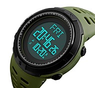 1295skmei спортивные наручные часы мужской наружный шагомер обратный отсчет хронограф мода водонепроницаемые часы цифровые наручные часы