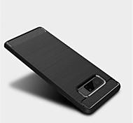 для корпуса крышка матовая задняя крышка корпус сплошной цвет мягкий tpu для Samsung примечание 8