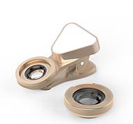 объектив мобильного телефона широкоугольный объектив макро объектив алюминиевый сплав 10x и выше 0,03 объектив со светодиодной подсветкой