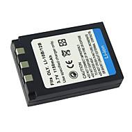 Ersättning Digitalkameror Batteri li10b / li-12b för Olympus Camedia C-5000 Zoom / Olympus Stylus 1000 (09370126)
