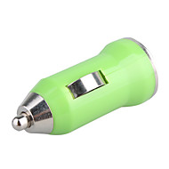 700mA Car Cigarette Powered USB Adapter/Charger (DC 12V/24V)-Green for iPhone 6 iPhone 6 Plus